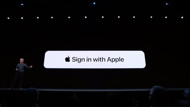 Apple ile giriş