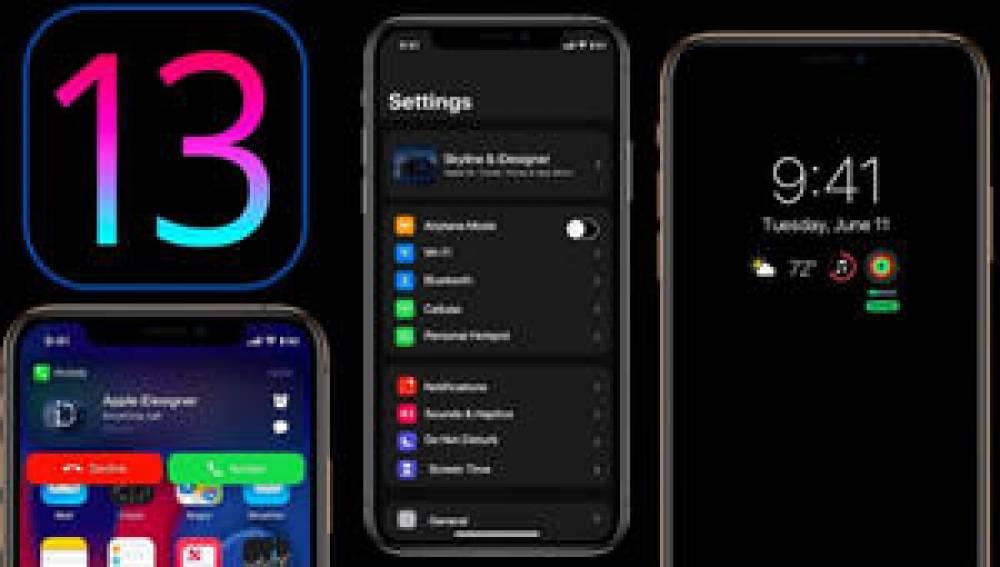 iOS 13'ün Karanlık Modundan İlk Ekran Görüntüsü!